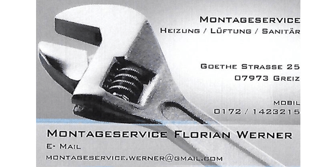 Florian Werner Montageservice