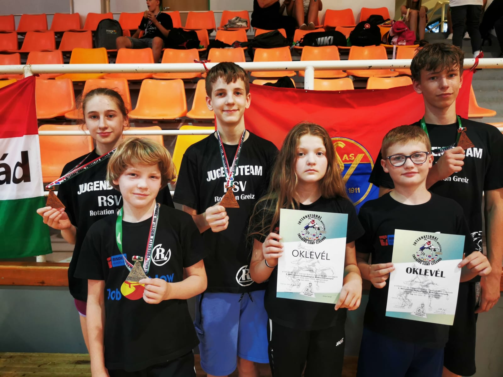 Internationales Turnier in Ungarn