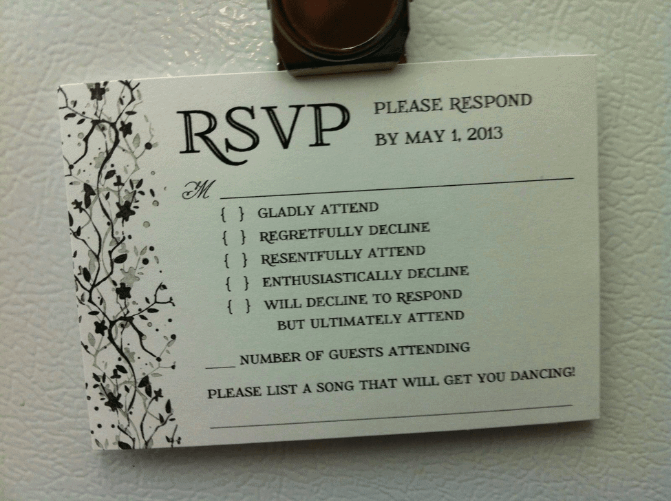 The DJ's Request Line RSVP