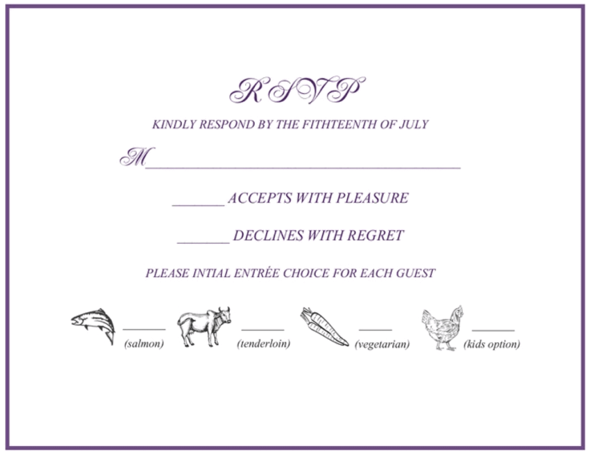 RSVP 101: How to RSVP to a Wedding or Event