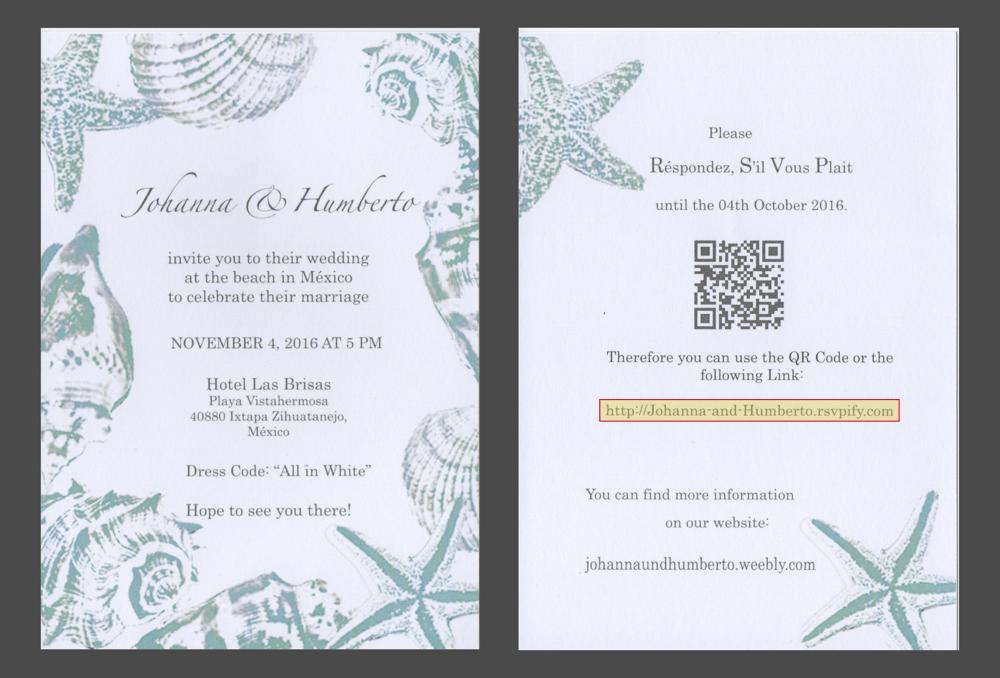 invitation on line