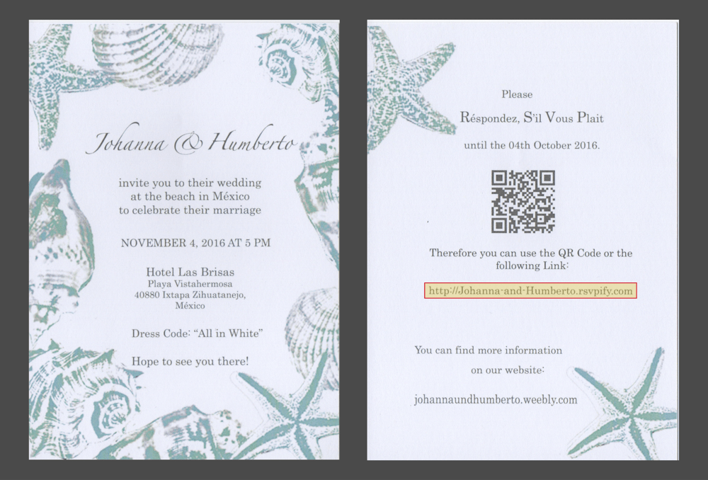 paper wedding invitation with online rsvp url 1?fit=1000%2C678&ssl=1 why paper invites and online wedding rsvps are a perfect match,Send Online Invitations