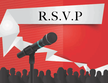 guide to wording your corporate rsvp card