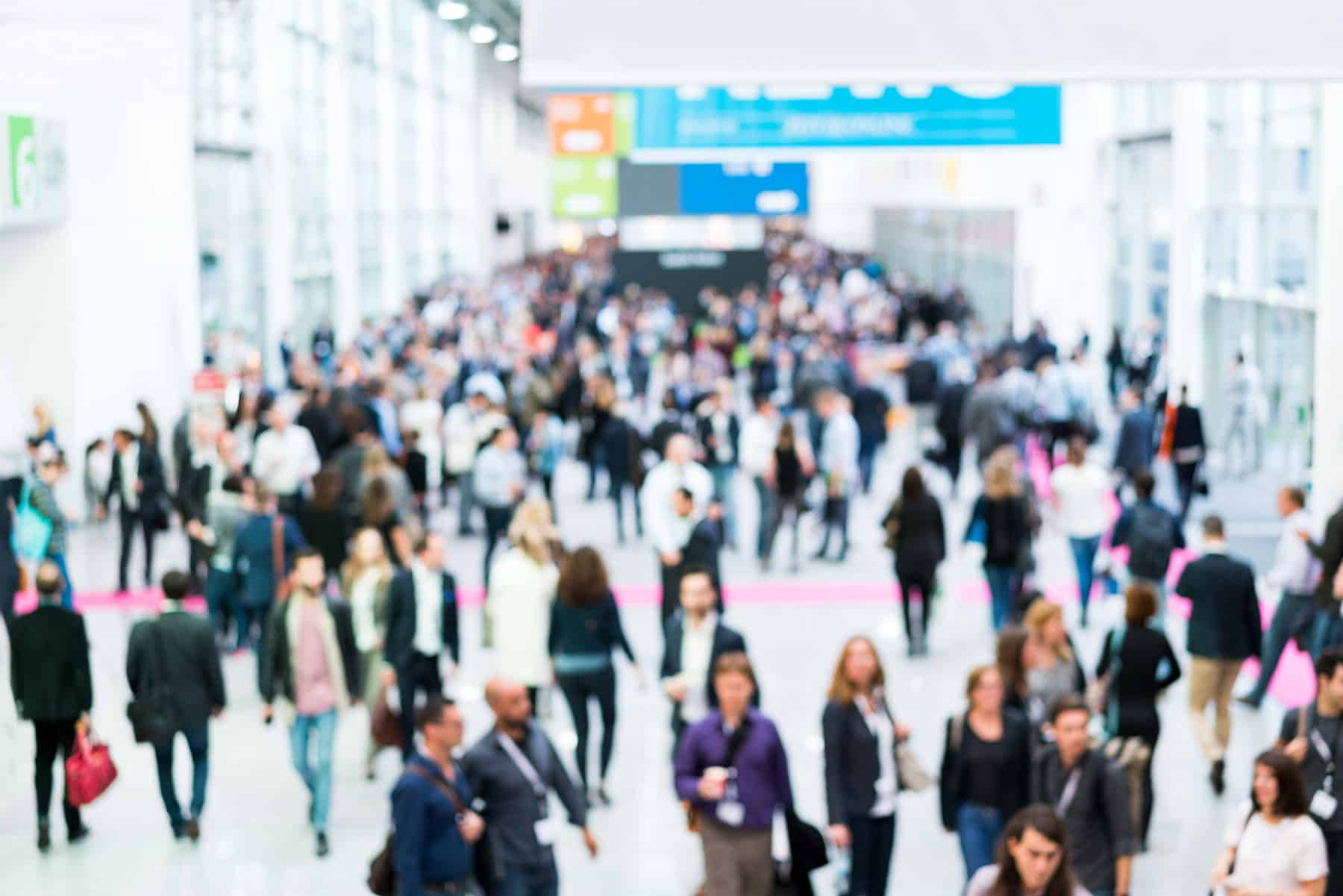 Large convention key to event management