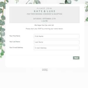 Wedding RSVP Wording Guide 2019 - Online, Traditional