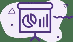 Presentation of event ROI through data charts