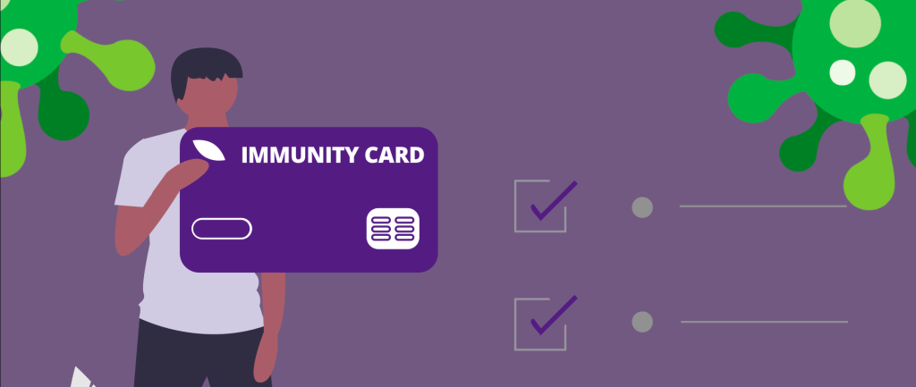 COVID-19 immunity card may be required to access major events and conferences
