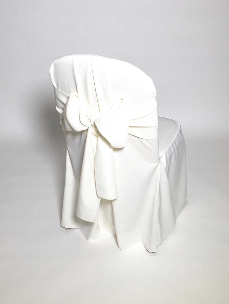 chair covers ivory stool size classic cover rsvp party rentals