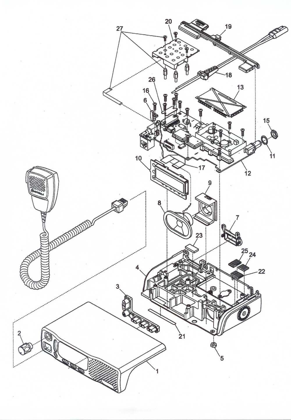 medium resolution of motorola cm300 wiring diagram wiring librarym1225 motorola m1225 motorola cm300 wiring diagram