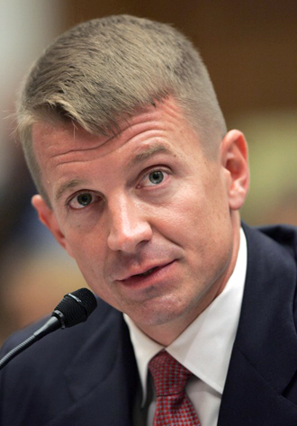 Erik Prince, chairman of the Prince Group. (AFP Photo / Tim Sloan)