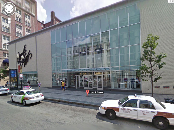 New Lord and Tayloк shop in Boston.(Image from Google.com)