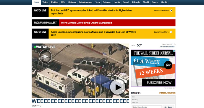 screenshot from www.foxnews.com