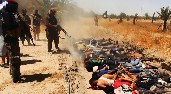 ISIS Committing Atrocities