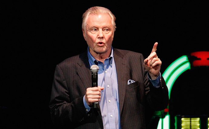 Actor Jon Voight (AFP Photo / Getty Images / Terry Wyatt)