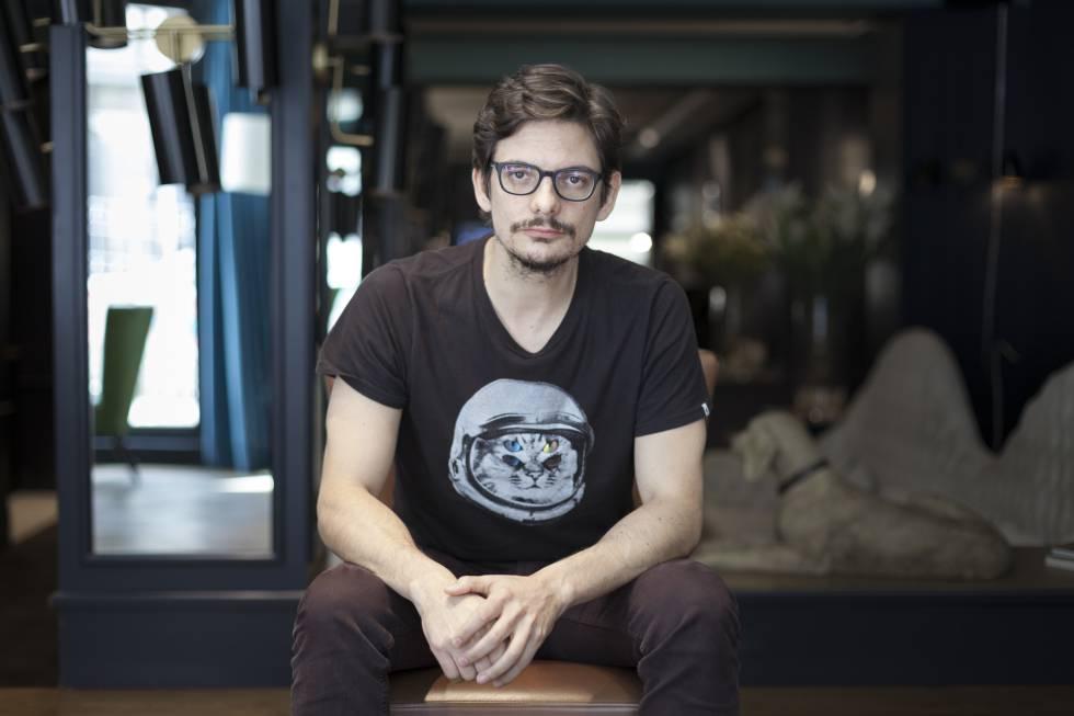 Mat Travizano, durante el encuentro con EL PAÍS RETINA en Madrid.