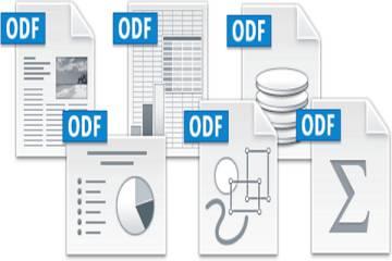 Iconos de archivos en Open Document Format