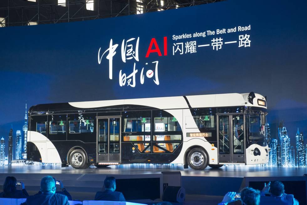 China apuesta fuerte por los autobuses autónomos