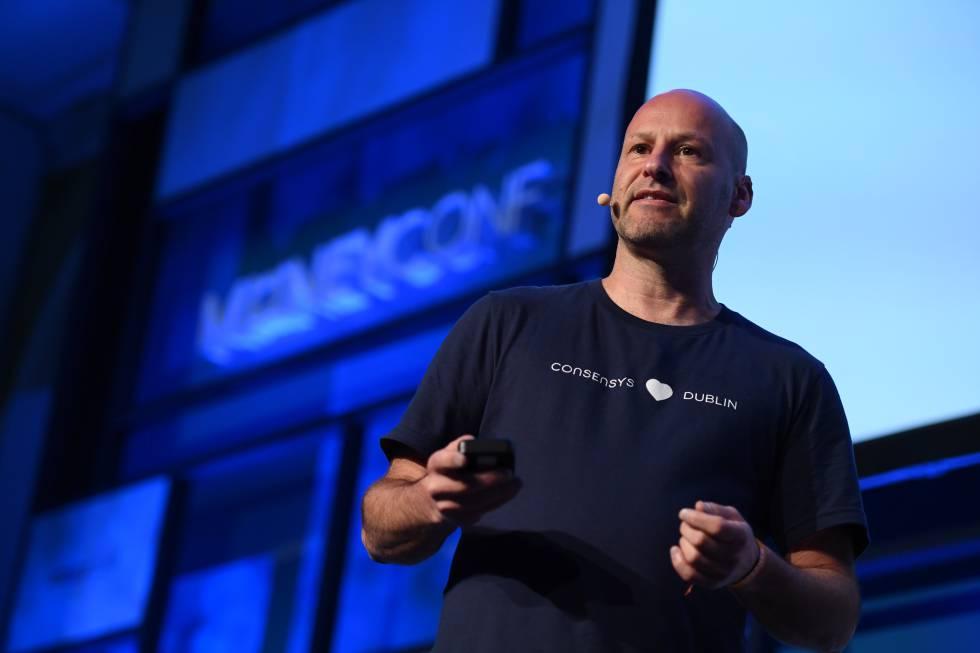 El cofundador de la criptomoneda Ethereum, Joseph Lubin.