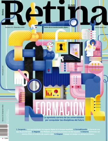 Carreras contrarreloj: llega la Revista Retina a tu quiosco