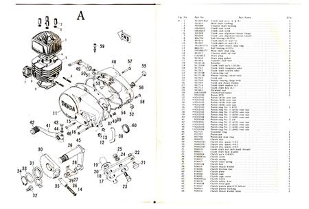 Vintage Parts :: Motorcycles :: Hodaka :: Hodaka 100
