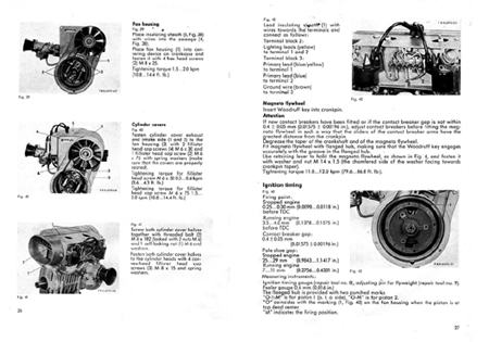 Sachs SA 2-440 2 cycle engine repair manual