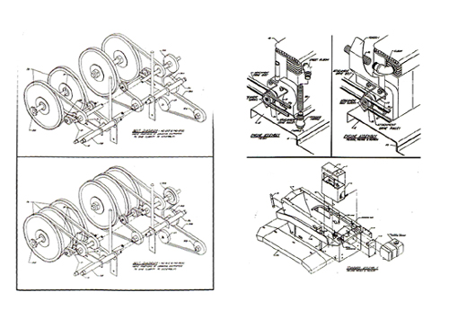 Struck MD 1200 MD1600 mini dozer assembly manual w/ parts list