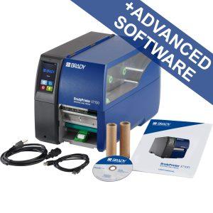 BradyPrinter i7100 300 dpi - EU with Peel function and Brady Workstation LAB Suite