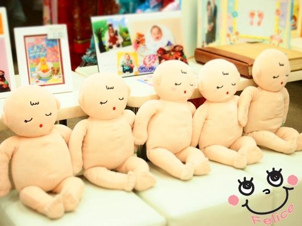 ベビーマッサージ人形