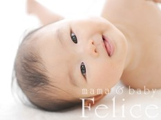 ベビーフォト4ヶ月