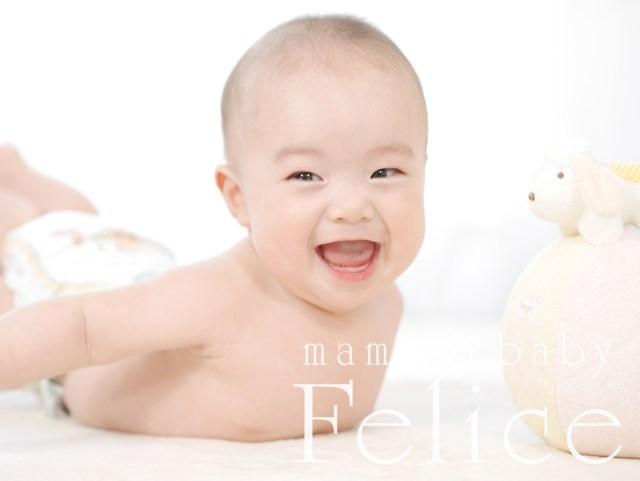 赤ちゃん撮影5ヶ月