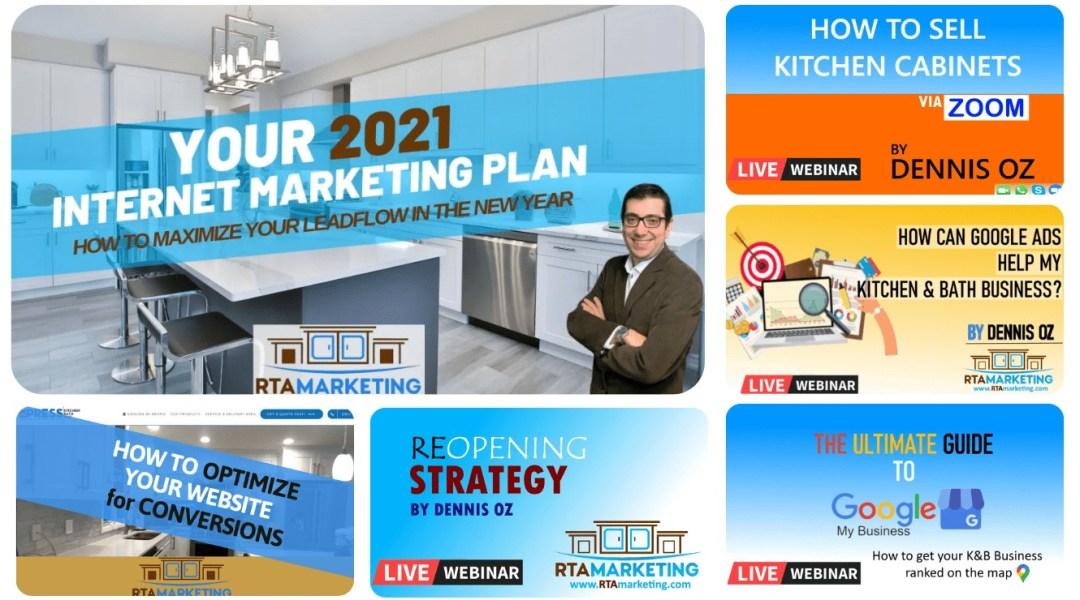 RTA Marketing Webinars