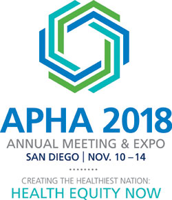 APHA 2018 Annual Meeting & Expo. San Diego, Nov. 10-14. Creating the Healthiest Nation: Health Equity Now