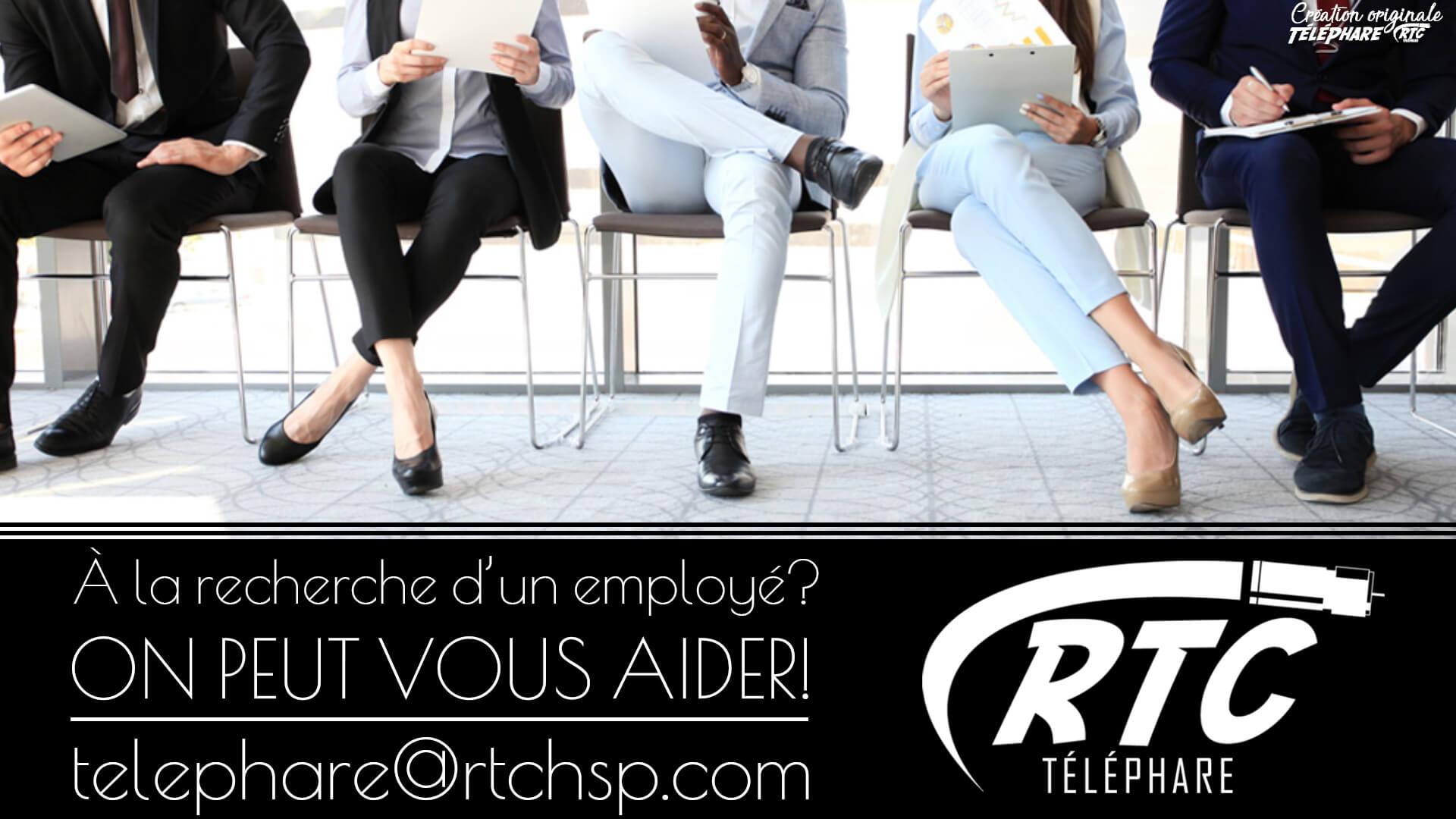 Publicité Service TéléPhare – Offre d'emploi – Janvier 2020