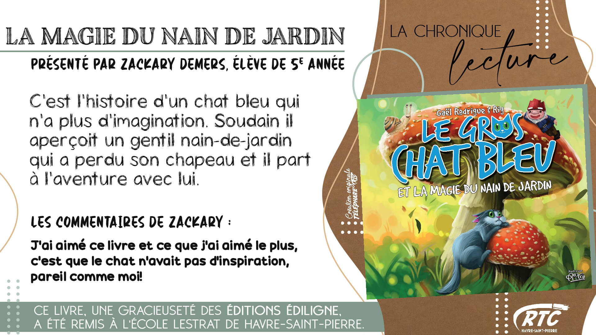 Chronique-Lecture-2021-Zackary-Demers-La-magie-du-nain-de-jardin-6-au-12-avril-2021