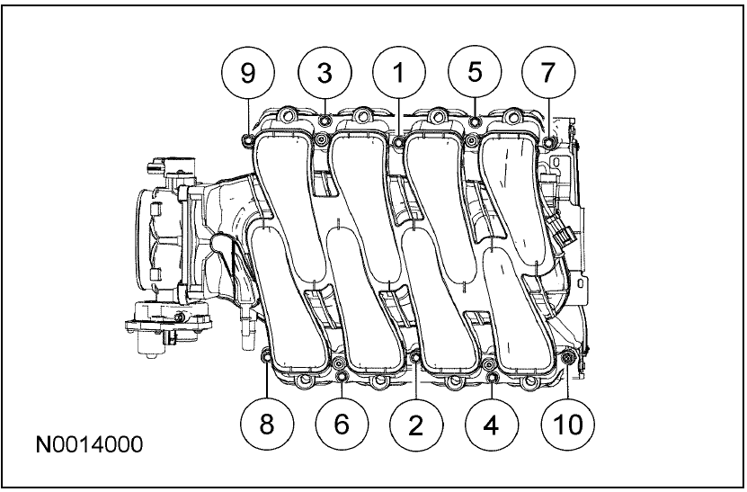 2006 Mustang GT Torque Specs and patterns
