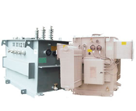 transformador subestación eléctrica