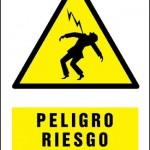 Peligro riesgo electrico