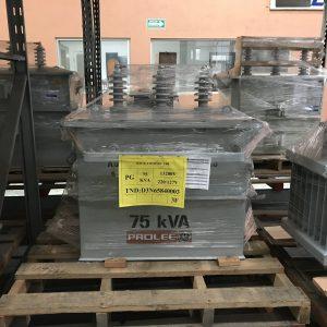 Transformador Prolec 75 Kva Poste Trifasico 13200 440/254
