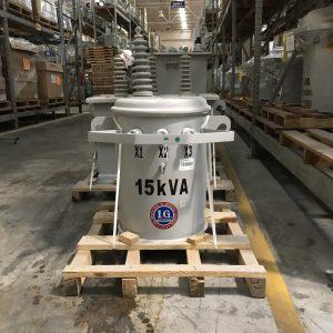 Transformador Tipo Poste Monofasico Ig 15 KVA 13200YT/7620V