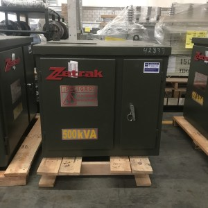 Transformador Zetrak 500 KVA Trifasico 13200v 220/127