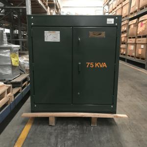 Transformador RTE DA 75 Kva Pedestal Trifasico 13200V 220/127V