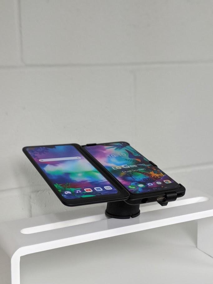 Lg G8x Thinq Dual Screen Mobile Phone Security Rtf