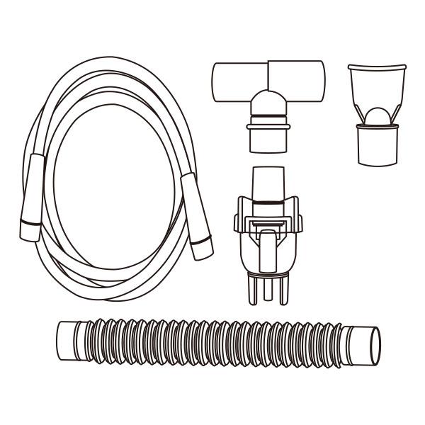 Hand Held Nebulizer Kit Standard Connector