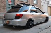 Autoart Impreza Sportwagon lowering and roof rack question ...