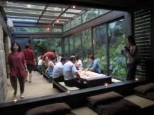 Das Shi-Yang Restaurant nebenan