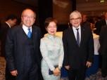Taiwans Vertreterin in Berlin, Agnes Hwa-Yue Chen, mit Gästen