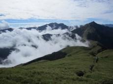Abstieg vom Nanhua Berg