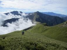 Nanhua Berg Richtung Tianchi Hütte