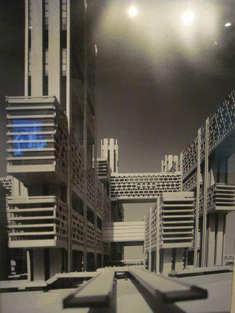 Projet de remodélisation de Tsukiji District par Tange Kenzo/ 1967