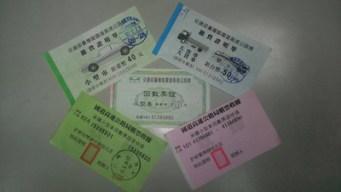 non peage tickets